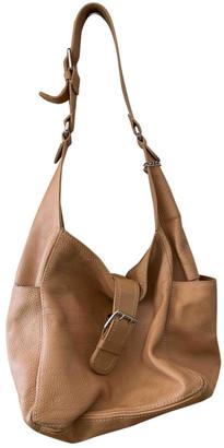 Stefanel Beige Leather Handbags
