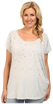 DKNY Embellished Tunic Top