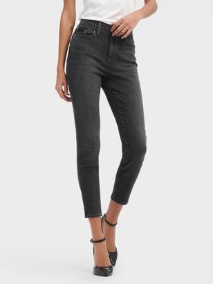 DKNY Women's High Rise Everywhere Skinny Jean - Shadow Grey - Size 32