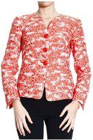 Armani Collezioni Blazer Jacket 3 Buttons Brocade Floral