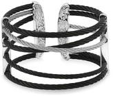 Alor Black & Grey Cable Cuff