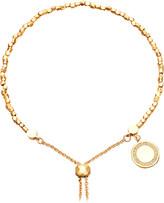 Astley Clarke Cosmos 18ct yellow-gold vermeil and sapphire kula bracelet