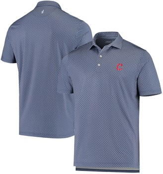 Men's johnnie-O Navy Cleveland Indians Howe Polo
