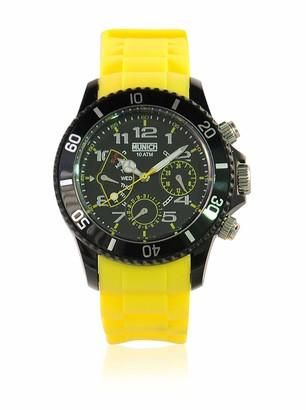 Munich Unisex Adult Analogue Quartz Watch with Silicone Strap MU+119.9A