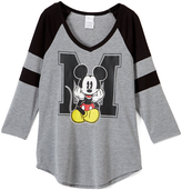 Jerry Leigh Mickey Mouse M Is for Mickey Long-Sleeve Tee - Juniors