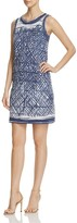 Nic+Zoe Blue Crush Print Dress