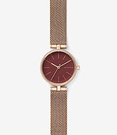 Skagen Signatur Analog T-Bar Mesh Bracelet Watch