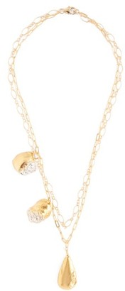 Alighieri The Rolling Continum 24kt Gold-plated Necklace - Gold