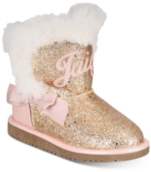 Juicy Couture Toddler Girls Cozy Boots