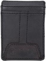 Levi's Black Magnetic Leather Wallet
