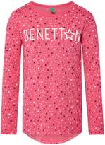 Benetton Girls Star Print T-Shirt