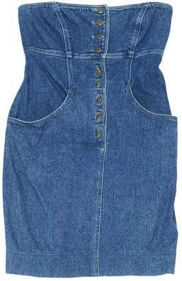 Byblos Blue Denim - Jeans Dress for Women Vintage