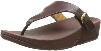 FitFlop Women Skinny Toe Thong Leather Heels Sandals