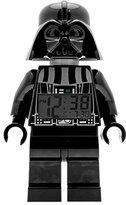 LEGO Star Wars Darth Vader Kids Minifigure Light Up Alarm Clock | black/grey | plastic | 9.5 inches tall | LCD display | boy girl | official