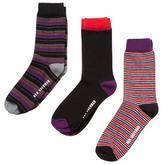 Ben Sherman Multicolored Boot Socks (3 PK)