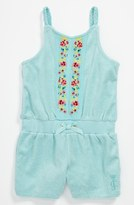 Juicy Couture Terry Cloth Coveralls (Baby) Angel Blue 18-24M
