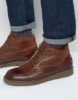 Jack & Jones Kingston Warm Lining Leather Boots