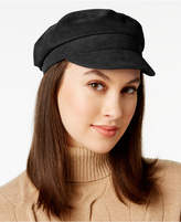 Nine West Faux-Suede Flat Newsboy Cap