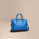 Burberry The Slim Barrow In London Leather, Blue