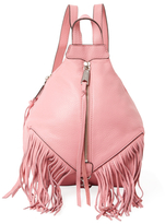 Rebecca Minkoff Julian Mini Fringe Leather Backpack