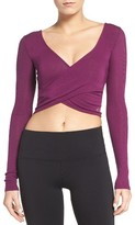 Alo Women's Ameilia Two-Way Crop Top