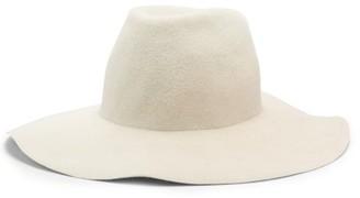 Reinhard Plank Hats - Moulded Felt Hat - White