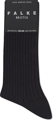 Falke Bristol ribbed wool socks