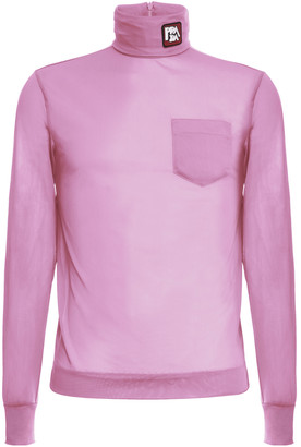 Prada Indemagliabile Shell Logo Turtleneck