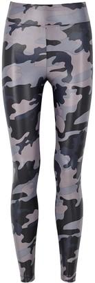 Koral Activewear Lustrous camouflage-print leggings