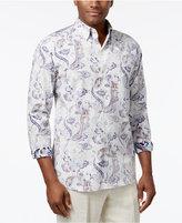 Tommy Bahama Men's Paulo Reverse-Print Paisley Shirt