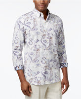 Tommy Bahama Men's Silk Paulo Reverse-Print Paisley Shirt