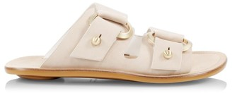 Rag & Bone Avost Flat Leather Sandals