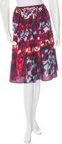 Peter Pilotto Abstract Print A-Line Skirt