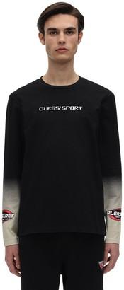 GUESS Pleasures Racing Printed Jersey T-Shirt