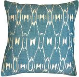 Kim Salmela Paz 20x20 Cotton Pillow, Teal