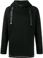 Y-3 hooded sweatshirt with straps