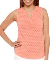 Liz claiborne tops for women shopstyle canada for Liz claiborne v neck t shirts