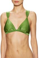 Vix Paula Hermanny Solid Matelass Bikini Top