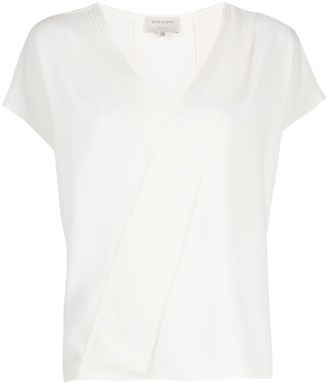 ZEUS + DIONE short sleeve V-neck T-shirt