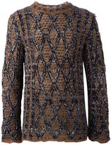 Ports 1961 'Fully Fashioned' sweater - men - Polyamide/Mohair/Wool/Virgin Wool - L