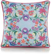 George Home Floral Embroidered Mini Cushion