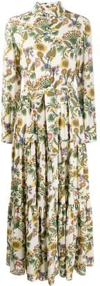 La DoubleJ Bellini thistle print dress