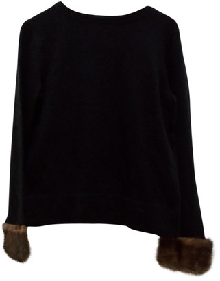 Saks Fifth Avenue Black Cashmere Knitwear for Women Vintage