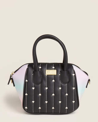 Betsey Johnson Luv Betsey By Quilted Heart Satchel
