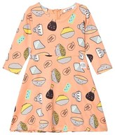 Indikidual Coral Sushi Print Full Dress