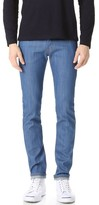 Naked & Famous Denim Super Skinny Guy Rich Blue Stretch Jeans