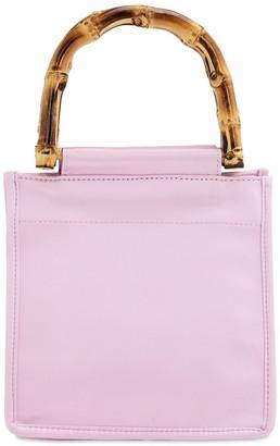 Hai Pink Annie Silk Top Handle Bag