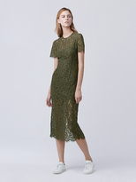 Diane von Furstenberg Carly Lace Midi Dress
