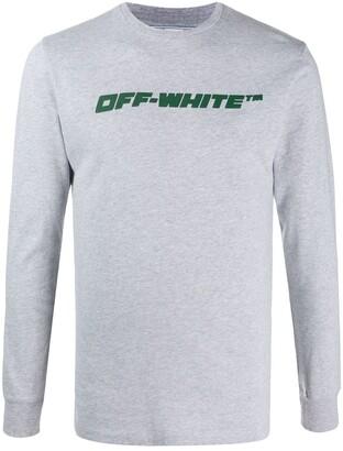 Off-White Worker Logo-Print Sweatshirt