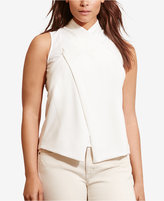 Lauren Ralph Lauren Plus Size Surplice Top